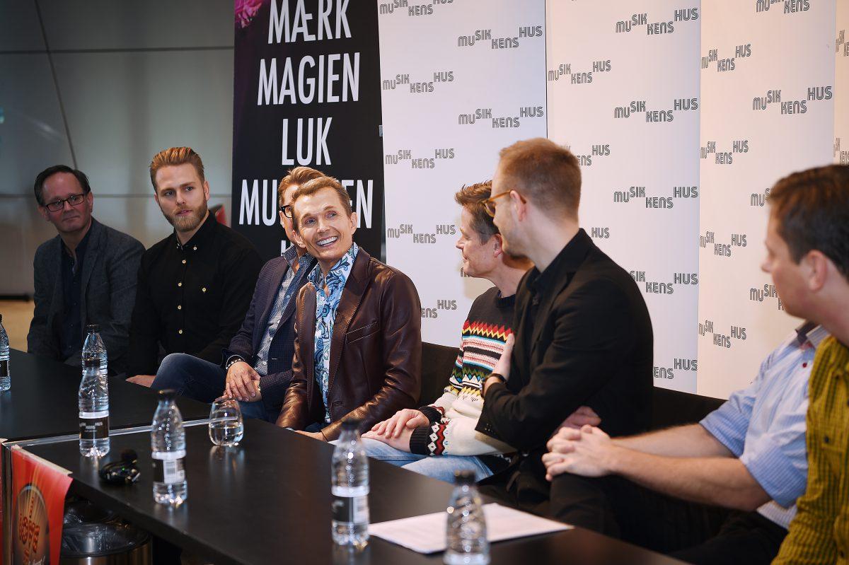 Pressemøde på I Love It i Musikkens Hus